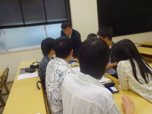 岡山理科大学社会情報学科における、平成27年度 危機管理論講義06