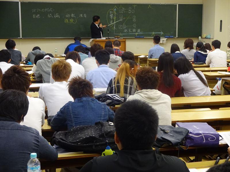 岡山理科大学社会情報学科における、平成27年度 危機管理論講義11