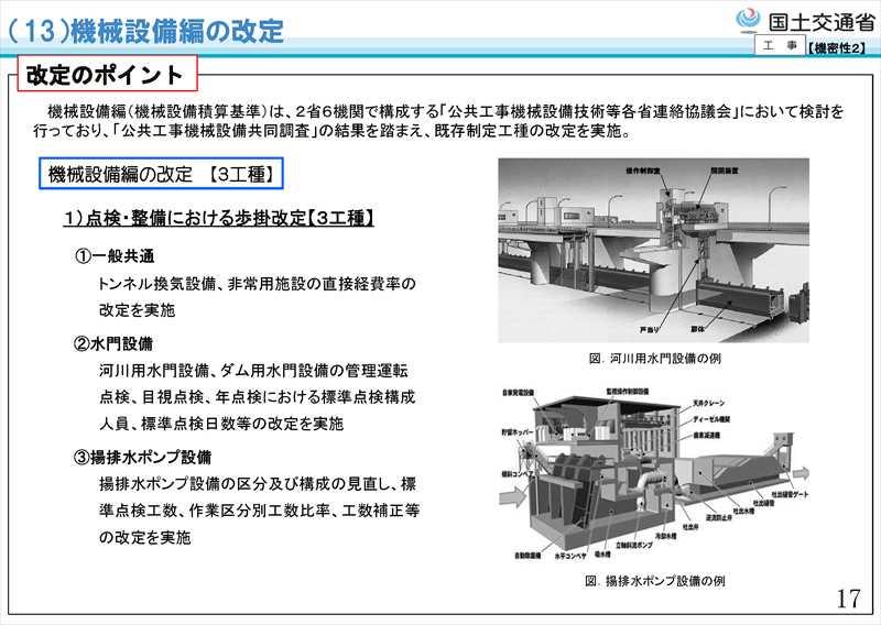 平成31年度国土交通省土木工事・業務の積算基準等の改定22