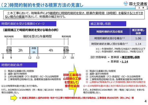 令和2年度国土交通省土木工事・業務の積算基準等の改定14