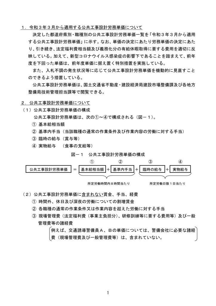 令和3年3月から適用する公共工事設計労務単価について_06
